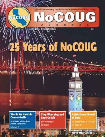100th issue of the NoCOUG Journal
